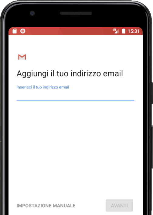 Tipi di account di posta elettronica Gmail