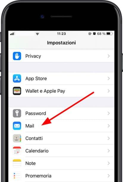 Impostazioni Apple iPhone 12