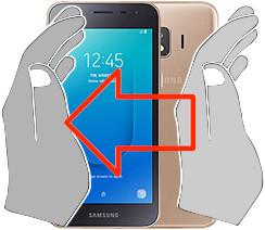 Acquisizione dello schermo in  Samsung Galaxy J2 Core