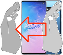 Acquisizione dello schermo in  Samsung Galaxy S10
